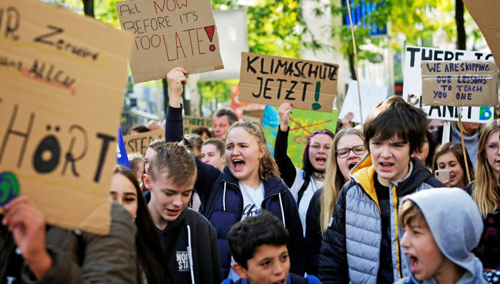 Foto: Fridays for future in Herne am 20.09.2019